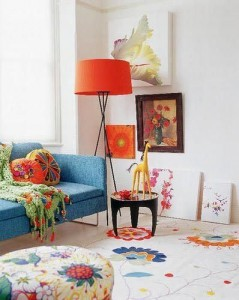 how a lampshade can impact the ambience of a room